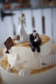 Novelty Wedding Cake Toppers Fishing