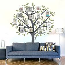 family tree picture frame wall picture frame wall decal tree wall decal nursery wall decoration tree