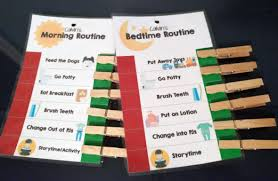 Bedtime Chart Printable Easy Tool To Make Morning Bedtime Routines Less Stressful