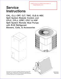 Goodman Subcooling Chart Goodman A C Unit Service Instructions Manualzz Com