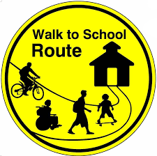 Image result for safe walking route