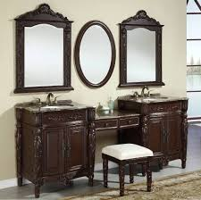 Bathroom Sinks And Cabinets 87 Inch Double Vanities Vanity Make Up Stool