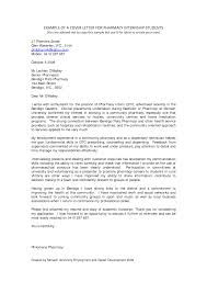 Free Download Cover Letter Sample For Pharmacy Internship Students