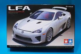 Tamiya 1/24 Lexus LFA Model Kit Review – ELP Modelling