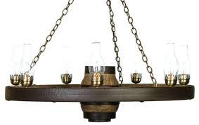 42 lantern reion cast wagon wheel chandelier