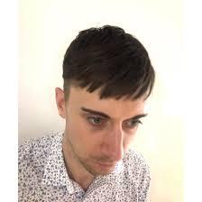 メンズショート刈り上げ2ブロック外国人短め前髪かわいい前髪 In