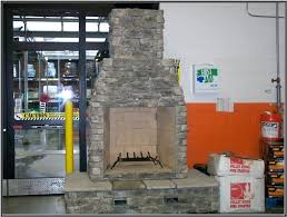 fire rock fireplaces available at selected home depot s in fire rock fireplace fire rock fireplaces