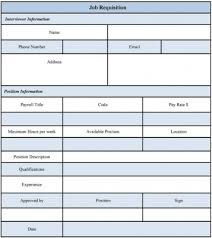 Job Requisition Template - East.keywesthideaways.co