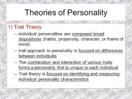 personality theories personality psychology theories of personality mr lauta psychology