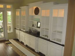 Living Room Built In Cabinets Beautiful Built Ins For The Dining Room Use Glass Shelves Home