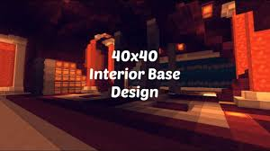Factions Base Design Schematic 40x40 Factions Base Tour Minecraft Faction Interior Design Ep 6 With Download
