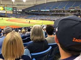 Tropicana Field Section 127 Home Of Tampa Bay Rays