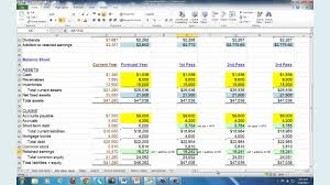 Financial Planning Sheet Excel Financial Planning Forecasting Spreadsheet Modeling