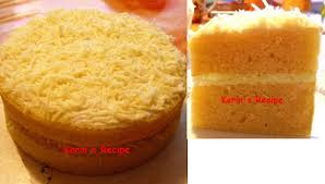 Cake Keju Kukus Steamed Layer Cheese Sponge Cake Karins Activity