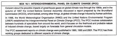 essay on global warming and greenhouse effect intergovernmental panel of climate change