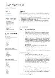 Engineer Cv Sample - Kleo.beachfix.co
