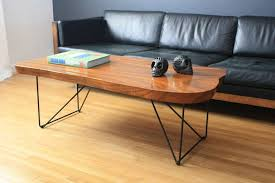 glamorous top coffee table vintage wood slab image for plan best custom tables