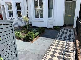 victorian terrace front garden