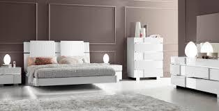Modern Italian Bedroom Sets Caprice White Modern Italian Bedroom Set N Contemporary
