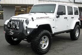 jeep wrangler 2014 white. 2014 jeep wrangler rubicon white 157815 front left side angle j