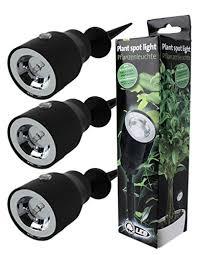 3Stk LED Pflanzenleuchte Pflanzenspot Pflanzen Strahler Deko Beleuchtung  Deko