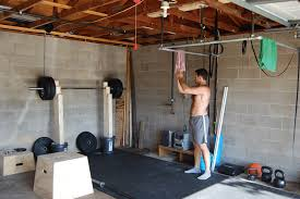 homemade diy crossfit gym