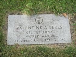 Valentine Albert Beres (1918-1979) - Find A Grave Memorial