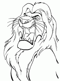 Small Picture Lion King Coloring Page Coloring pages Pinterest Lions