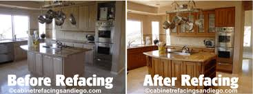 cabinet refacing before and after.  Cabinet Kitchen Cabinet Design San Diego Before After Refacing Sample  Simple Awesome Great Nice Chandelier To And T