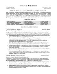 Office Administration Resumes Sample Resume Computer Skills The