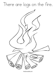 logging coloring pages there are logs on the fire coloring page twisty noodle