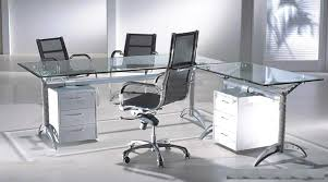 contemporary glass office desk. contemporary desk see an inspiration of a contemporary glass desks for home office intended desk i