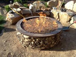 paver patio with gas fire pit. Beautiful Best Rocks For Fire Pit Of Gas Fireplace How Can I My To Paver Patio With