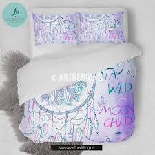 Dream Catcher Crib Set Dreamcatcher bedding set with quote Designer bedding Custom 27