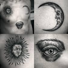татуировка месяц значение эскизы тату и фото