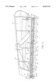 patent us5437113 snow plow trip cutting edge google patents patent drawing