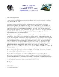 Letters For Sports Teams Youth Sponsorship Letter Team Please Note