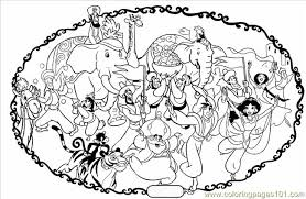 Kleurplaat Parade Coloring Page Free Dancing Coloring Pages