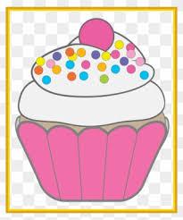Cute Birthday Cupcake Clip Art Cute Birthday Clipart Free Png