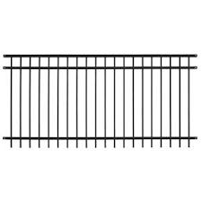 US Door Fence Pro Series 484 ft H x 767 ft W Black Steel