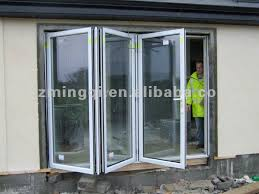 supreme accordion sliding doors modern accordion glass windows and sliding glass pocket doors