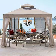 jcpenny gazebo replacement canopy garden winds