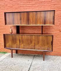 mid century modern furniture. Beautiful Mid Century Modern Furniture Hardwood Teak Credenza Server Buffet MCM 1 Of 11Only Available