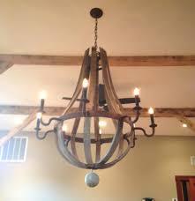 wine barrel chandelier home depot in decent baby along