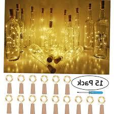 Mini String Lights Battery Operated Amazon Com Mikash Wine Bottle Cork Lights Battery Operated
