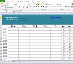 Meeting Room Scheduler Template Professional Conference Room Scheduler Template Company