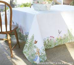 Peter Rabbit Tablecloth #PotteryBarnKids