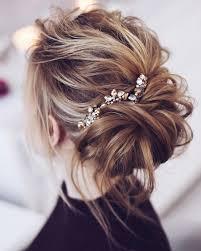 Bridesmaid Hairstyles 47 Awesome Beautiful Messy Bridal Hair Updos Wedding Hairstyle Updos