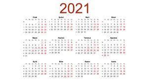 2021'deki Tüm Resmi Tatiller ve Tarihleri