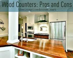 cherry hardwood kitchen countertops butcher block countertops pros and cons best kitchen countertops